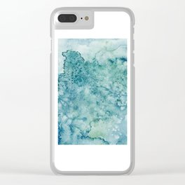 Abstract No. 144 Clear iPhone Case