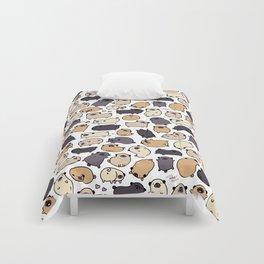Pug Life Doodle Comforters