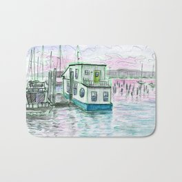 Boston Boats Bath Mat