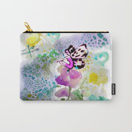 Butterfly Lady Carry-All Pouch