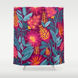 Fiesta Garden Shower Curtain