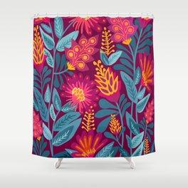 Fiesta Garden Shower Curtain