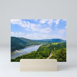 Weaverton Cliff Overlook (Landscape) Mini Art Print