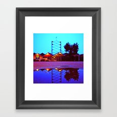 This is Mid-Century Framed Art Print