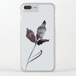 Floral Abstract No.2l by Kathy Morton Stanion Clear iPhone Case