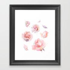 roses2 Framed Art Print