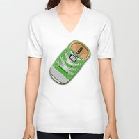 vans V-neck T-shirts featuring Cute Green Vans all star baby shoes apple iPhone 4 4s 5 5s 5c, ipod, ipad, pillow case and tshirt by Three Second