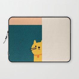 Little_Cat_Cute_Minimalism Laptop Sleeve