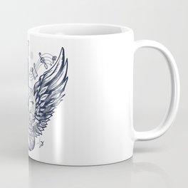 Guitar and wings Coffee Mug