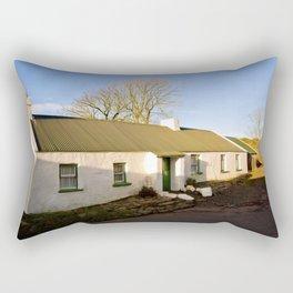 Old Irish Cottage Rectangular Pillow