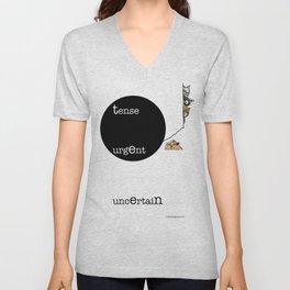 Teens Unisex V-Neck