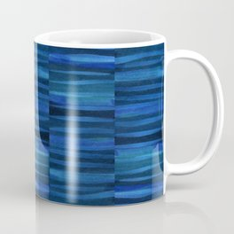 Streaked River Blue Coffee Mug