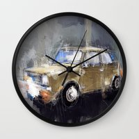 minion Wall Clocks featuring Minion by mystudio69