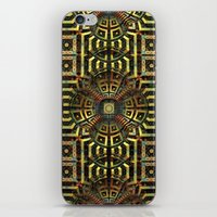 stargate iPhone & iPod Skins featuring Stargate - Mayan Edition by Lyle Hatch