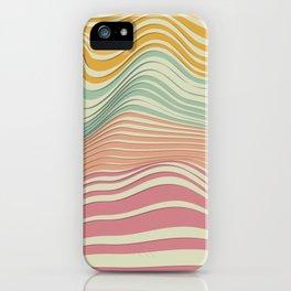 Colored Landscape iPhone Case