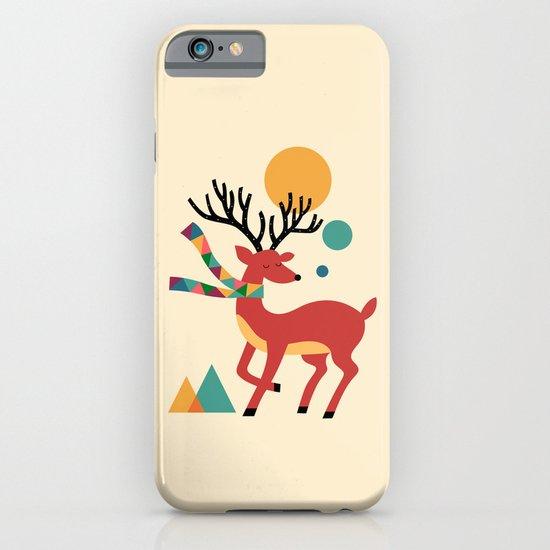 Deer Autumn iPhone & iPod Case