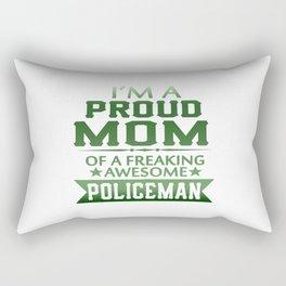 I'M A PROUD POLICEMAN'S MOM Rectangular Pillow