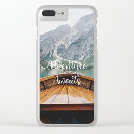 Live the Adventure - Adventure Awaits Clear iPhone Case