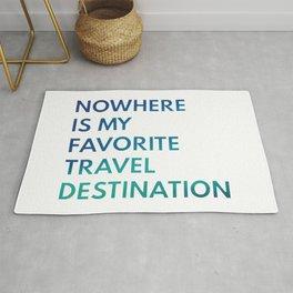 Travel Nowhere Rug
