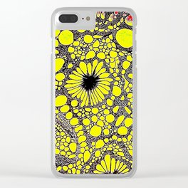 Lost at Sea - Abstact Clear iPhone Case
