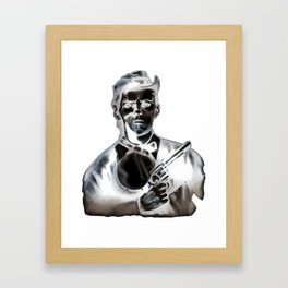 The Ghost of Jesse James Framed Art Print