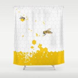 Honey, Please! Shower Curtain