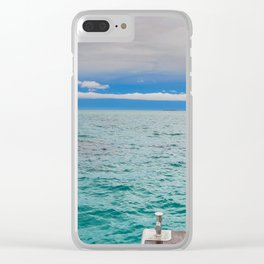 OCEAN FRONT VIEW Clear iPhone Case
