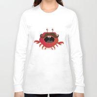 cancer Long Sleeve T-shirts featuring Cancer by Maria Jose Da Luz