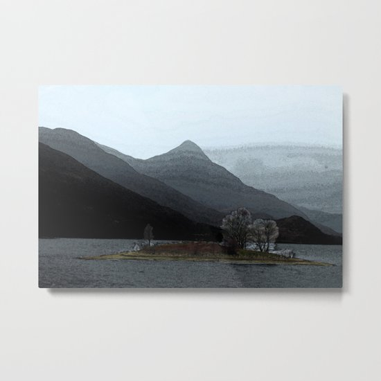 In the gloaming Metal Print