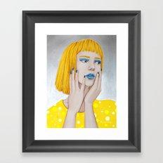 I said Hey Framed Art Print