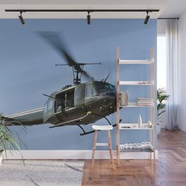 Bell UH-1 Iroquois Helicopter - (Huey) Wall Mural