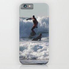 Winter Surfing iPhone 6s Slim Case