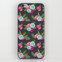 wwe iPhone & iPod Skins featuring Flower Pattern by eARTh