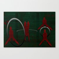 sport Canvas Prints featuring Sport by LoRo  Art & Pictures