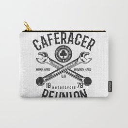 Cafe Racer Reunion Vintage Tools Poster Carry-All Pouch