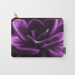 Succulent Plant In Violet Color #decor #society6 #homedecor Carry-All Pouch