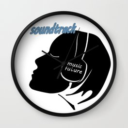 The music of the future 3 Wall Clock