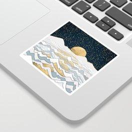 Golden Ocean Sticker