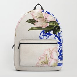 Chinoiserie Vase #01 Backpack