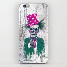 Skully Sam iPhone & iPod Skin