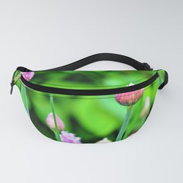 Flowering Chives Fanny Pack