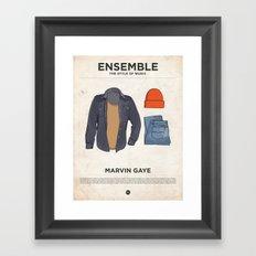 Ensemble - Marvin Gaye Framed Art Print