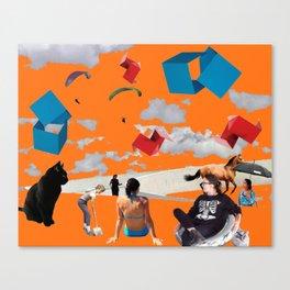 phtomontage Canvas Print