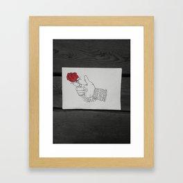 For You My Love 2 Framed Art Print