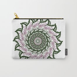 Pinwheel Mandala Carry-All Pouch