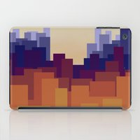 cityscape iPad Cases featuring Cityscape by MarMarMette