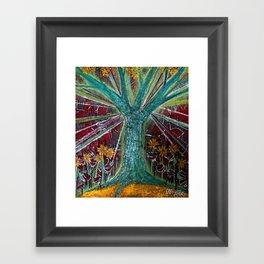 jours de canicule Framed Art Print