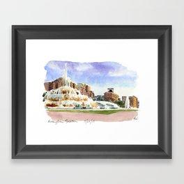 Buckingham Fountain - Chicago Framed Art Print