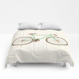 Green Fixie Comforters
