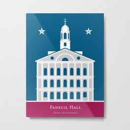 America: Faneuil Hall Metal Print